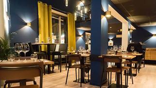 Grain de Folie Restaurant, une brasserie qui vaut le détour en centre-ville avec son esprit de convivialité, son cadre tendance, sa cuisine traditionnelle, à proximité des Halles aux grains.(® site Grain de folie restaurant)