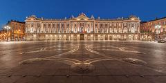 Guide des restaurants de la Place du Capitole de Toulouse et des rues proches en centre-ville (® wikimedia)